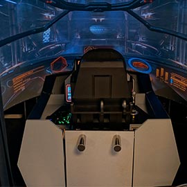 Space Fighter Weltall Simulator Schweiz